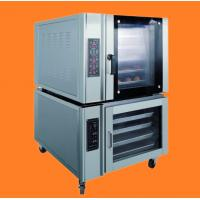 Best electric bakery equipment convection baking oven 5 pans with 10 pans proofer wholesale