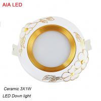 Best High power 3x1W LED and High quality  ceramic LED down light in hotel used wholesale