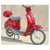 Best Hand Brake 350w Electric Moped Bike With Permanent Magnet Brushed DC Motor wholesale
