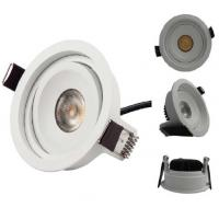 cheap led recessed downlight up down light 7w cob citizen chip for