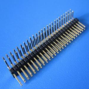 Best 0.8mm 1,0 1.27 2.0 2.54 3.96 5.08 Pitch single/ dual row smt U R/S type pin header, wholesale