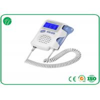 China Professional Ultrasonic Fetal Doppler Machine Earphone CE / FDA Approved on sale