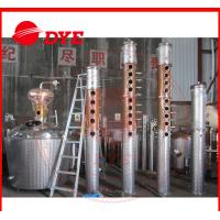 Best Custom Whiskey / Vodka Commercial Distilling Equipment 3MM Thickness wholesale