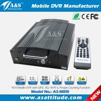 Full D1 4CH H.264 3G Car DVR with Passanger Counter