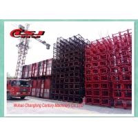 Best Building Site Rack And Pinion Elevator Hoisting Equipment Frequency Control wholesale