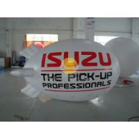 Best Inflatable 0.18mm PVC Helium Zeppelin , Exhibition Digital Printing Helium Airships wholesale