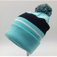 Best Nice Womens Knit Beanie Hats 100% Acrylic Material Fully Customizable wholesale