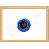 Best 3 Pin Push Pull Female Circular Plastic Connectors M0 Shell Size wholesale
