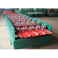 Best 5.5KW Secret Joint Roof Panel Roll Forming Machine Hydraulic Cutting With CE wholesale