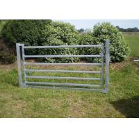 Best Portable Cattle Yard Panels Corral Sheep Panel 50X50MM Vertical Tube 4FT X 8FT wholesale