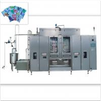 China Milk Aseptic Filler Machine , 2500-9000 PPH Liquid Pouch Packing Machine on sale