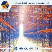 Best Durable Drive Through Racking System Industrial Metal Storage Racks Automation Control wholesale