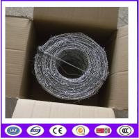 Buy cheap Hot Dipped Galvanized Double theftproof Barbed Wire from wholesalers