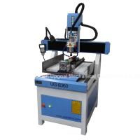 Best 3D CNC Metal Engraving Machine 4 Axis with DSP A18 Control UG-6060 wholesale