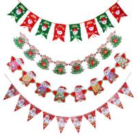 Cheap Customized Waterproof Advertising Flag Banners , Christmas Create Custom Flag for sale