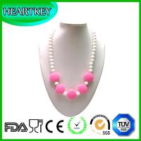 Best baby gift silicone teether safe for baby silicone necklace wholesale