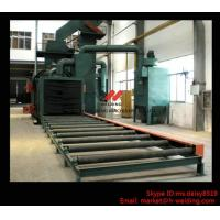 Best Steel Plate / H Beam Shot Blasting Machine For Cleaning And Blasting Before Sanding and Painting wholesale