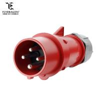 Best 16 amp CE certificated 4 pole industrial equipment installation fitting Connector for aviation and dock wholesale