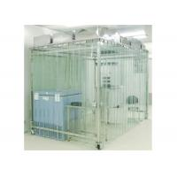Best Movable Vertical Air Flow SoftWall Clean Room 304 Stainless Steel Cleanroom wholesale