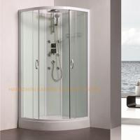 Best 800 x 800mm quadrant shower enclosure sliding shower glass door with back jets wholesale