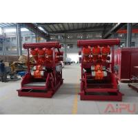 Cheap No dig drilling fluids process Hunter series mud cleaner at Aipu solids control for sale