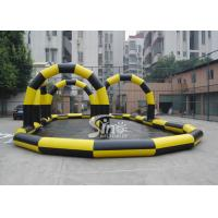 Best Custom made outdoor N indoor go karts inflatable race track for zorb balls and cars wholesale