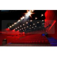 Best 4D movie theater , thrilling movie , drastic movement of motion chair wholesale