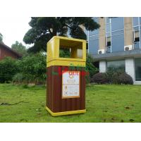 Best Recyclable 100% Outdoor Garbage Can , Durable Garden Garbage Can 415 X 365 X 900mm wholesale