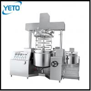 Best 350L double brace hydraulic lifting cosemtic cream homogenizer making machine wholesale