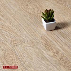 Cheap High strength high flexibility wood grain uv coating embossed PVC vinyl flooring for sale