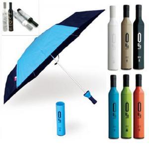 China Wine Bottle Umbrella on sale