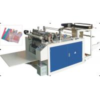 Best Poly / PVC / PE Plastic Shopping Bag Making Machine With Heat Cutting , Sealing wholesale