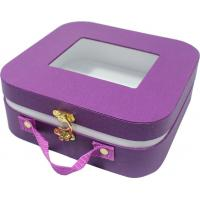 Best Small cute paper gift case , safety creative gift boxes rounded corner metal lock wholesale