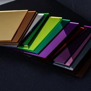 Best 1mm ColorPerspex MirrorPlasticSheetAcrylicMirrorSheetFor Decoration wholesale