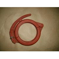 "Quality Concrete Pump 3"" 4"" 5"" 6'' Pipe Clamp/Coupling 130 Bar Working Pressure wholesale"