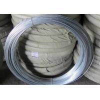 Best Q195 Galvanised Iron Wire , Silver Mesh Weaving Galvanized Binding Wire wholesale