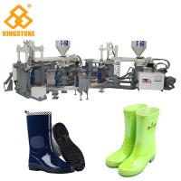 Best Automatic Rain Shoes Making Machine Production Line , Rotary Injection Molding Machine wholesale