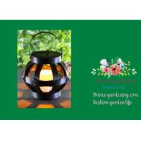 Best Mini Round Woven Solar Garden Lights / Garden Rattan Solar Lights wholesale