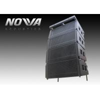 Double 10 Line Array PA Speaker System Durable For Outdoor / Indoor