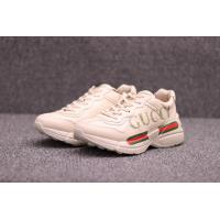 Cheap 【wechat  cx2801f】Gucci Rhyton Vintage Trainer Sneaker for sale