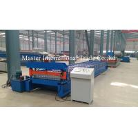 Best Hydraulic CNC Floor Tile / Sheet Metal Forming Equipment Cr12Mov Chains Drive wholesale