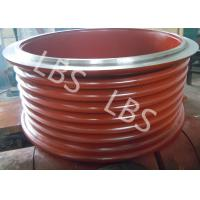 Best High Strength Steel Lebus Grooved Drum Cable Winch Drum / Rope Drum wholesale