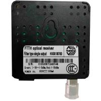 Cheap HSGS10076D FTTH Optical Receiver Filter Suppliers Single Output A/W ≥0.85/≥0.9 for sale
