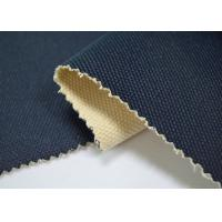 Best 24 OZ Blue Color Coated Cotton Canvas / 100 Cotton Canvas For Bags wholesale
