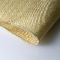 China 2025 High Temperature Fiberglass Cloth , Vermiculite Coated Cloth Plain Weave on sale