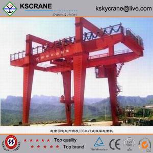 Best Material Handling Double Girder Gantri Crane With Bridge Girder wholesale