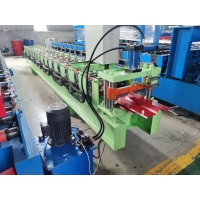 Buy cheap Colour Steel Ridge Cap Roll Forming Machine from wholesalers