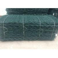 Best PVC Coated Gabion Mattress Stone Cage Wire Mesh Green Colour For Srilanka wholesale