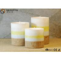 Buy cheap Mini Lovely 3 Set Flameless Pillar Candles Battery Operated Creative Lighting from wholesalers