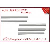 Cheap PP PE Electrical Conduit PVC Conduit and Fittings A B C Three Grade 20mm 25mm for sale